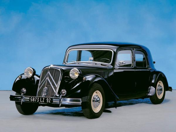 1952. a Traction 15 SIX D